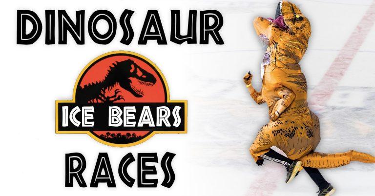 Knoxville Ice Bears Dinosaur Races