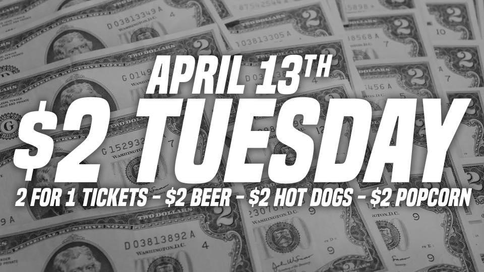 Ice Bears $2 Tuesday 4-13