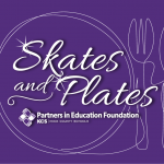 "Ice Bears Support Partners in Education Foundation Fundraiser ""Skates & Plates"""